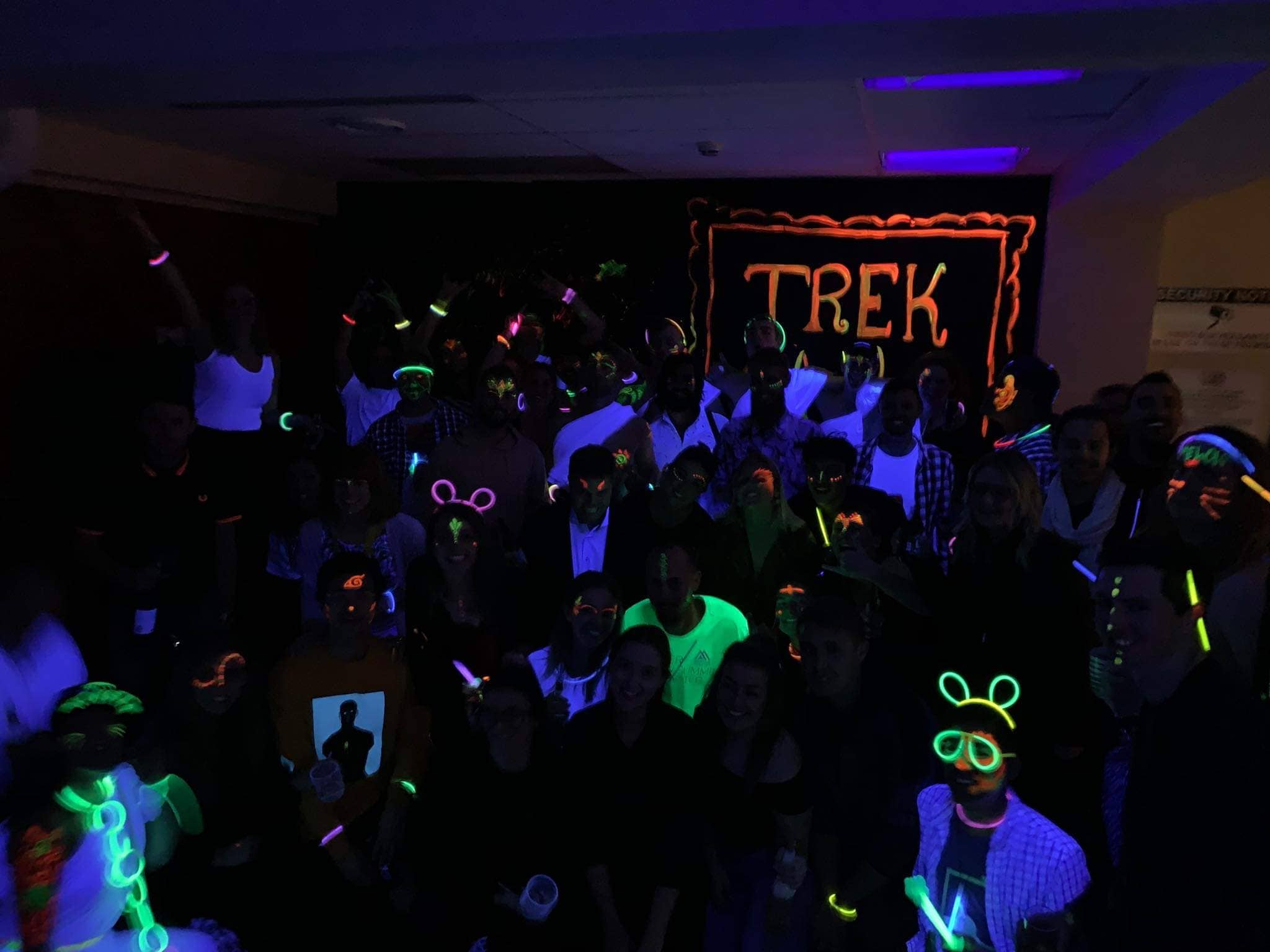 Trek UV Party