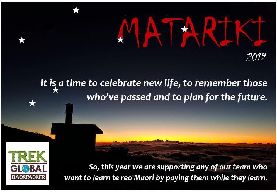 Matariki – Maori New Year