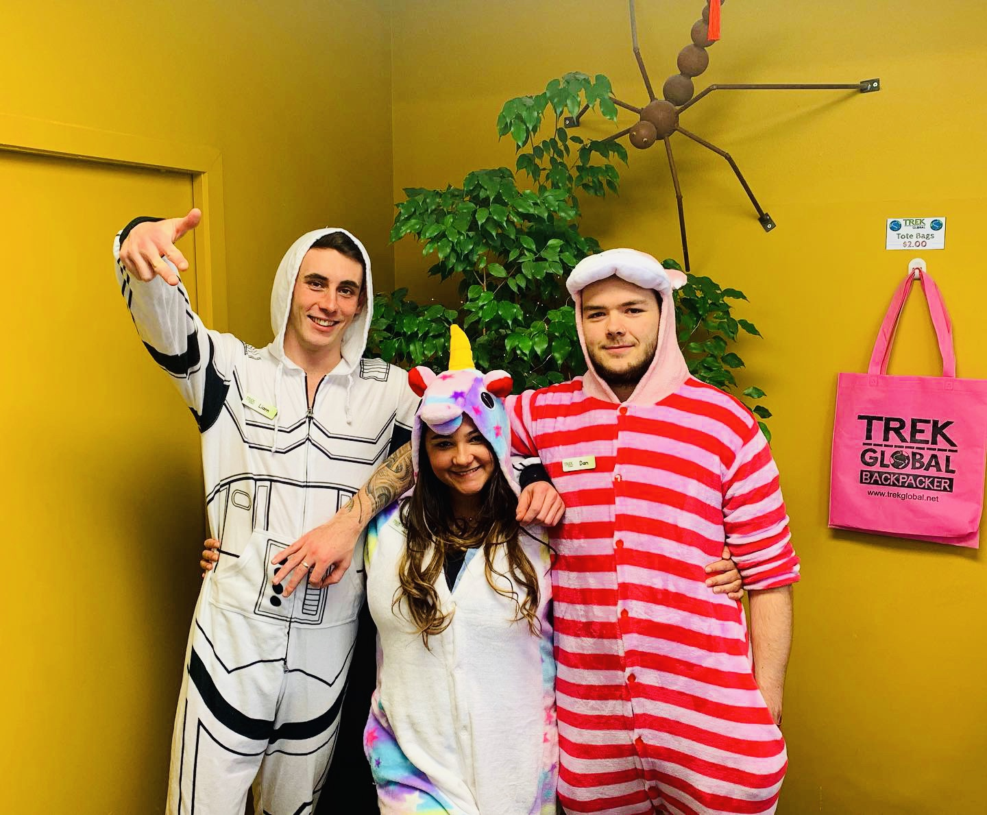 Trek Global Onesie Day